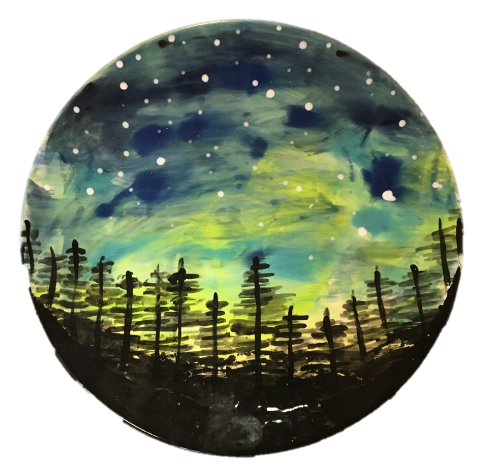 Virtual Paint Night – Northern Lights
