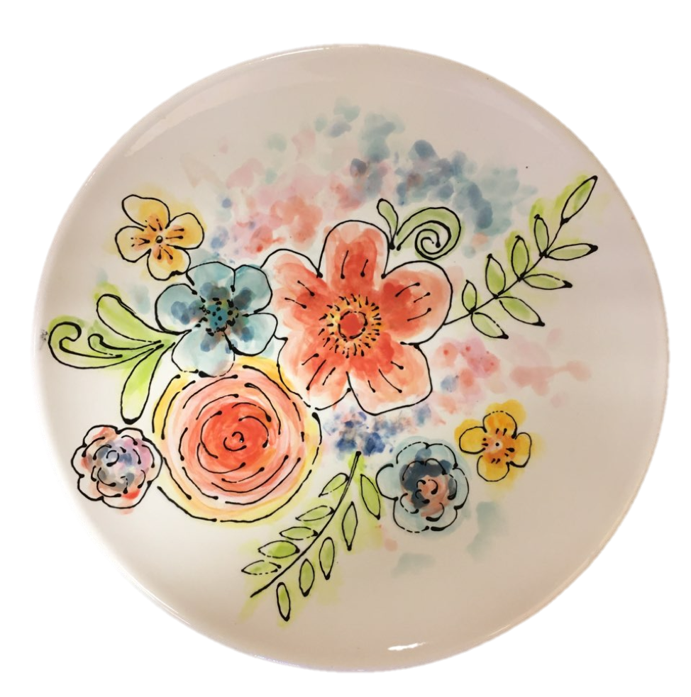 Virtual Paint Night – Watercolour Tattoo