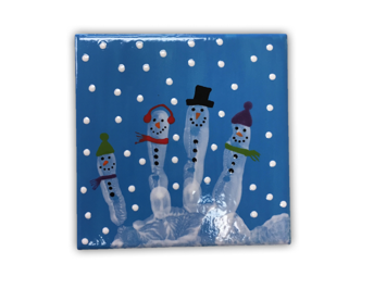 Once Upon A Doodle-Snowmen