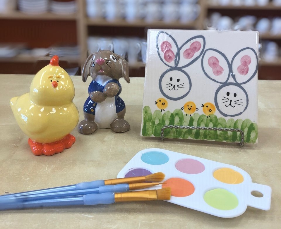 Toddler Art! Bunny Stamp How To Video